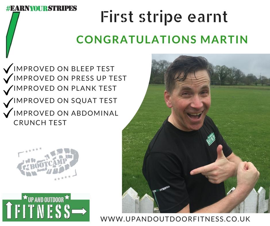 Martin 1 stripe