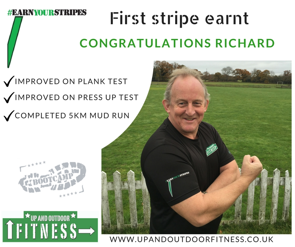 First Stripe - Up and Outdoor Fitness