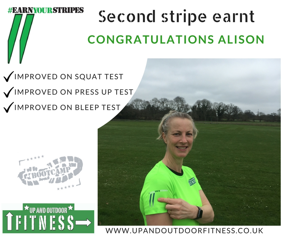 Second Stripe - Up and Outdoor Fitness